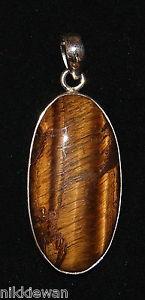 【送料無料】ネックレス ゴールデンタイガースターリングシルバーargent sterling oeil de tigre dor bijoux pendentif 3069 force protection