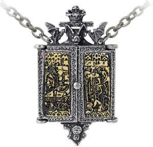 【送料無料】ネックレス バルカントリプティクアイコンスズメダイヨンドラキュランプdes balkans triptych icon mdaillon tain vlad dracula chauvesouris collier