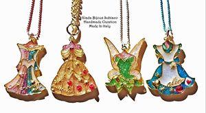 【送料無料】ネックレス アリスオーロラアイデアレガロcollane artigianali principesse trillie, alice, belle, aurora idea regalo