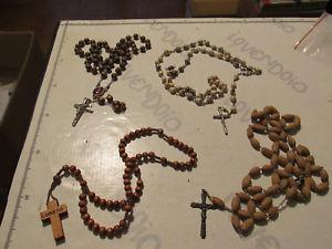 【送料無料】ネックレス ロトドナlotto 4 rosari collana uomo donna rosario preghiera