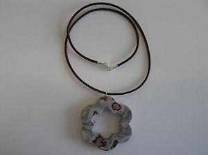 【送料無料】ネックレス プラタジャスパーnouvelle annoncecolgante chohua jaspe forma flor cierre plata 925 chohua jasper flower pendant