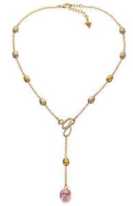 【送料無料】ネックレス クランプguess collier collier ubn20909 plaqu or
