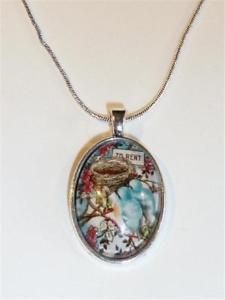 【送料無料】ネックレス ネックレスcg0215 collier plaqu argent oiseaux trouvaille un nid