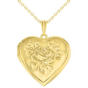 【送料無料】ネックレス ゴールデントーンピンクメダイヨンネックレスton dor coeur fleur rose mdaillon photo amour collier 483cm