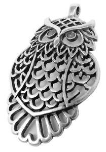 【送料無料】ネックレス フクロウペンダントminott bijoux pendentif hibou laiton avec apparence use 30680