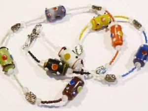 【送料無料】ネックレス ハンドクランプトーチfait main collier color chalumeau perles hm259