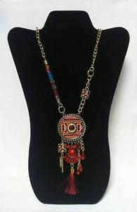 【送料無料】ネックレス r9595 1 precioso collar etnico abalorios