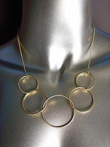 【送料無料】ネックレス シックブッシングドレープクリップchic minimaliste ramette thin mtal dor bagues drap collier