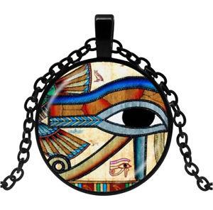 【送料無料】ネックレス ネックレスホルスエジプトペンダントアイシンボルcollier pendentif symbole oeil dhorus dieu gypte