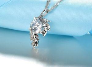【送料無料】ネックレス コリアースターリングシルバーcollier pendentif ange argent sterling 925