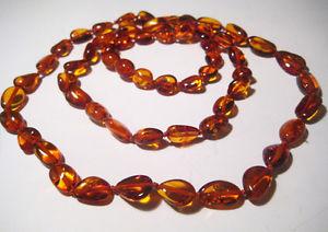 【送料無料】ネックレス バルトネックレスvrai ambre de la baltique collier 46 cm, 457cm