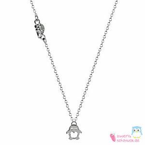 【送料無料】ネックレス シルバーゴールドピンクゴールドペンギンペンダントcollier avec pingouin pendentif en argent, or ou or rose