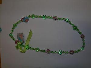 【送料無料】ネックレス リリフィーネックレスネックレスbijoux pour enfants collier collier pour enfant glaskette vert lillifee 8788
