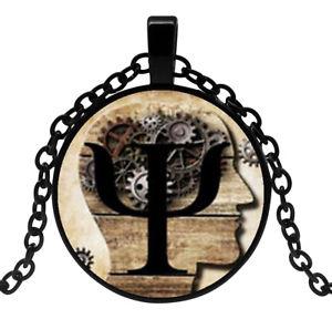 【送料無料】ネックレス ペンダントネックレスギリシャシンボルcollier pendentif lettre grec psi symbole psychologie