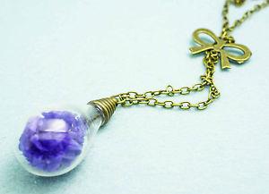 【送料無料】ネックレス ガラスゴールドfabuleux collier avec vases en verre pendentif vieil or