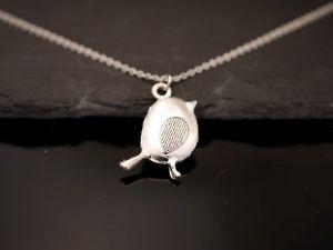 【送料無料】ネックレス スパーリングカラーmagnifique collier avec oiseau pendentif moineau sperling argent