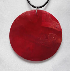 【送料無料】ネックレス クリエイションコーラルメダリオンペンダントagnes creations important pendentif medaillon en corail gorgone