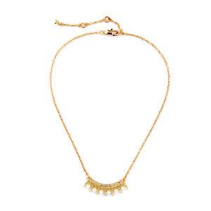 【送料無料】ネックレス ムーンパールキーパッドオリジナルメタルcollier dor mi long pendantif lune ethnique pav perle metal original dz1