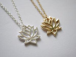 【送料無料】ネックレス collier avec lotusblumenmotivanhnger