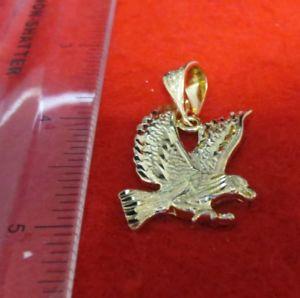 【送料無料】ネックレス ktグレートイーグルロープチェーン14kt ep grand aigle avec griffes breloque 406762cm 25mm corde chain2015