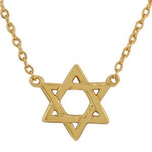 【送料無料】ネックレス スターリングシルバーユダヤデビッドコリアーargent sterling 925 petit classique juif toile de david collier