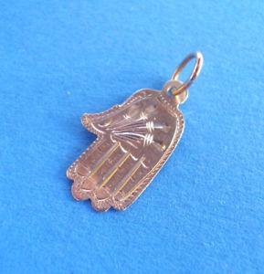 【送料無料】ネックレス ハンドペンダントゴールド2532 petit pendentif main de fatma or