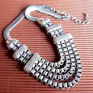 【送料無料】ネックレス モダニストクランプwg129  collier moderniste metal