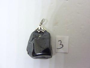 【送料無料】ネックレス ブラックスピネルpendentif protection spinelle noire 13,4 gr ref 4560