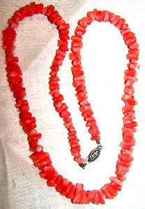【送料無料】ネックレス ヴィンテージエンジェルコーラルスキンクリップvintage authentique ange peau corail collier