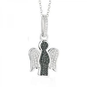 【送料無料】ネックレス ロベルトギャアルジェントスワロフスキーroberto giannotti collana angeli gia90 argento 925 swarovski pendente