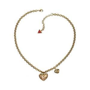 【送料無料】ネックレス ゴールドクオーレドナcollana guess ubn11215 acciaio gold cuore girocollo donna charms heart lady