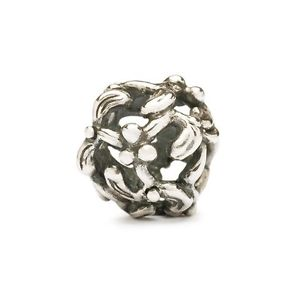 【送料無料】ネックレス シルバーヤドリギauthentic trollbead silver autumn mistletoe 11358 vischio