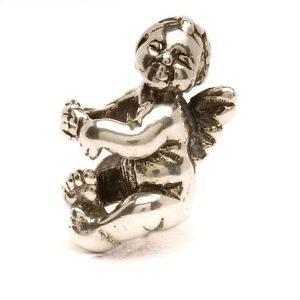 【送料無料】ネックレス シルバーauthentic trollbead silver cherub tagbe30089 puttino