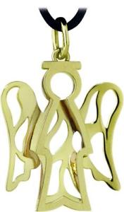 【送料無料】ネックレス ロベルトロktゴールドroberto giannotti collana angeli nkt164g oro 9kt 375 pendente laccio gold dorato