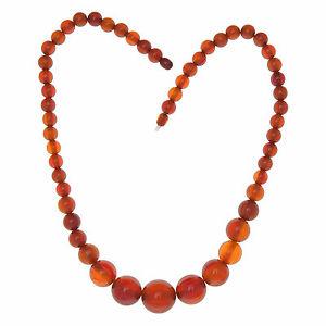 【送料無料】ネックレス ベークライトビンテージネックレスancien collier de perles en baklite vintage vers 1960