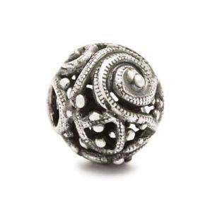 【送料無料】ネックレス アルジェントauthentic trollbead silver tagbe40017 silver whorl, spira dargento