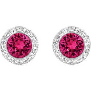 【送料無料】ネックレス スワロフスキービアンコドナイヤリングorecchini swarovski angelic fucsia cristalli pav bianco donna 5446022 earrings