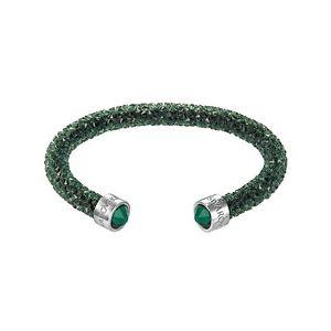 【送料無料】ネックレス スワロフスキーヴェルデドナブレスレットヌオーヴォbracciale swarovski crystaldust verde donna bracelet 5250690 nuovo crystal mis m