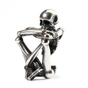【送料無料】ネックレス スケルトンスピリトauthentic trollbead skeleton spirit tagbe50021 spirito scheletro