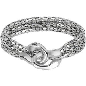 【送料無料】ネックレス コブラbracciale donna breil cobra tj2268 misura m acciaio serpente snake collana