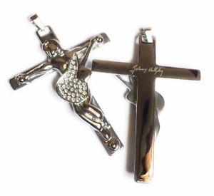 【送料無料】ネックレス クロスジョニーアリディペンダントシグネチャ×オリジナルgrande croix johnny hallyday originale pendentif avec signature 8cm x 6cm