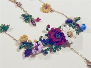 【送料無料】ネックレス フラワークリップボックスオンcg2416 collier fleur par les nereides cadeau en bote