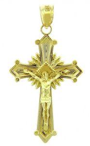 【送料無料】ネックレス ゴールドペンダントthe glory or crucifix pendentif