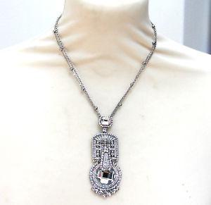 【送料無料】ネックレス バトラーウィルソンアールデコクランプbutler et wilson transparent iris cristal art dco collier nouveau