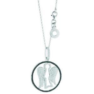 【送料無料】ネックレス ロベルトギャアルジェントスワロフスキーアンジェロroberto giannotti collana angeli gia97 argento 925 swarovski pendente angelo