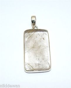【送料無料】ネックレス スターリングリゾーツスターリングシルバーゴールドクォーツルチルargent sterling en or rutile quartz bijoux pendentif 3190