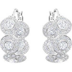 【送料無料】ネックレス スワロフスキービアンコロッソドナイヤリングorecchini swarovski angelic boccole pav bianco rosso donna 5418269 earrings