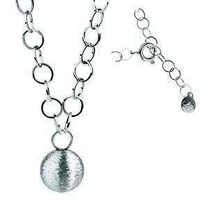 【送料無料】ネックレス ボールペンダントネックレスクランプデザインsrieux conception collier avec pendentif boule collier k150 lnge45 cm 50 cm