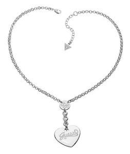 【送料無料】ネックレス クランプシルバーguess collier collier ubn21012 argent