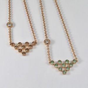【送料無料】ネックレス サイズゴールドブロンズレベッカクランプcollier rebecca en bronze dor avec des cristaux color taille brillant
